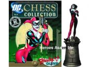 DC Chess Figurine Collection #17 Harley Quinn Black Queen Eaglemoss